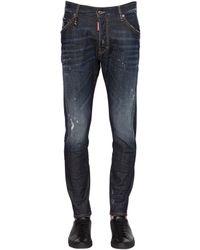 DSquared² | Blue 16.5cm Kenny Twist Stretch Denim Jeans for Men | Lyst