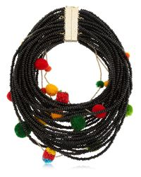 Rosantica | Black Special Edition Tulum Necklace For Lvr | Lyst