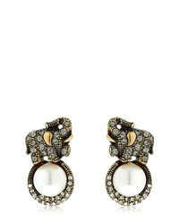 Alcozer & J | Metallic Elsa Elephant Earrings | Lyst