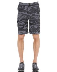 Columbia - Multicolor Silver Ridge Camo Printed Cargo Shorts for Men - Lyst