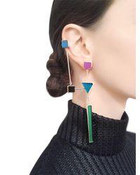 Sylvio Giardina - Blue Seven 7 Ear Cuff & Drop Mono Earring - Lyst
