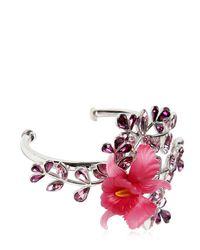 DSquared² - Pink Secret Garden Bracelet W/ Crystals - Lyst