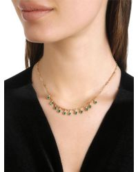 Elizabeth and James - Metallic Georgia Necklace - Lyst