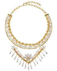 Shourouk - Metallic Calypso Necklace - Lyst
