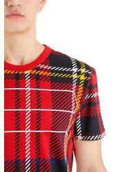 G-Star RAW - Red Royal Tartan Print Rt S/s for Men - Lyst