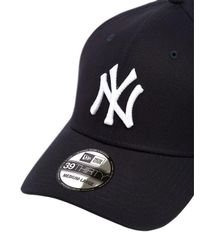KTZ Blue 39thirty New York Yankees Mlb Hat for men