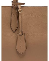 Burberry | Natural Medium Reversible House Check Tote Bag | Lyst