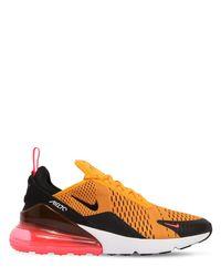 Nike - Orange Air Max 270 Neoprene Sneakers - Lyst