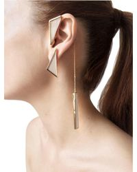Sylvio Giardina - Multicolor Collezione Three (3) Shape Earrings - Lyst