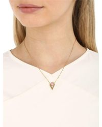 Iosselliani - Multicolor V Cabochon Pink Opal Necklace - Lyst
