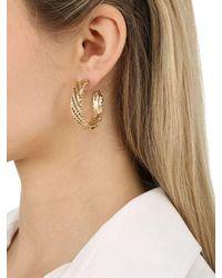 Rosantica - Metallic Voluttà Earrings - Lyst