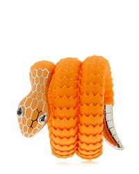 TAMARA DONALLI Orange Clea Sunrise Snake Wrap Bracelet