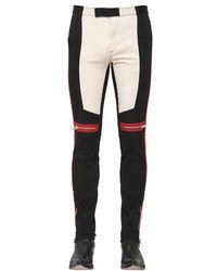 Givenchy - Black Men's Motocross Trouser Pants for Men - Lyst