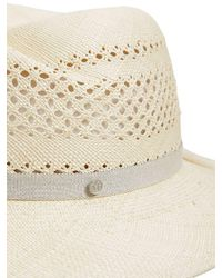 Maison Michel - Virginie Natural Straw Hat - Lyst