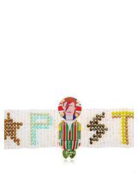 Bijoux De Famille - Multicolor Bowie Beaded Choker Necklace - Lyst