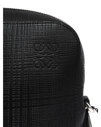 Loewe - Black Goya Thin Leather Briefcase - Lyst
