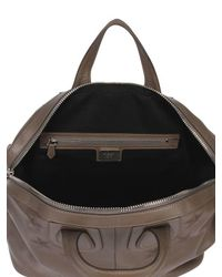Givenchy - Brown Embossed Stars Nightingale Leather Bag - Lyst