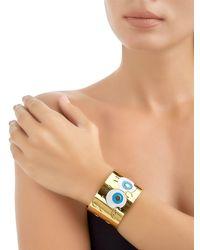 Maria Francesca Pepe - Metallic Spongebob Cuff Bracelet - Lyst