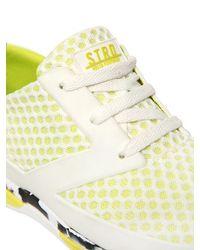 Volta Footwear - White Ct-i Strada Mesh & Nylon Sneakers - Lyst