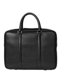 Paul Smith - Black City Embossed Leather Briefcase for Men - Lyst