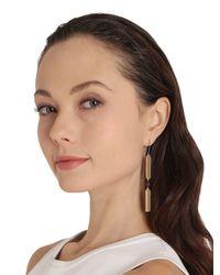 Uribe - Metallic Fulco Garnet Earrings - Lyst