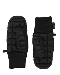 The North Face - Black Thermoball Nylon Mitten Gloves - Lyst
