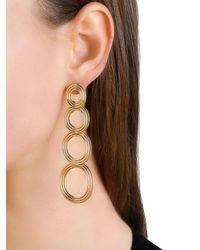 Pamela Love - Metallic Cassini Four Circle Drop Earrings - Lyst