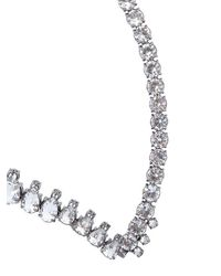 EK Thongprasert - Gray Origami Metal Necklace - Lyst