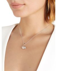 Anissa Kermiche - Metallic French For Goodnight Necklace - Lyst