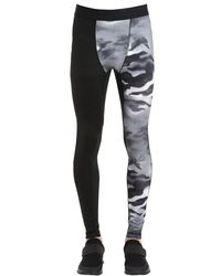 Reebok - Black One Series Compression Training Leggings for Men - Lyst