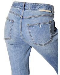 Stella McCartney | Blue Skinny Boyfriend Patches Denim Jeans | Lyst