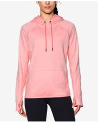 Under Armour - Pink Storm Armour® Fleece Hoodie - Lyst