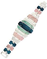 Robert Lee Morris - Multicolor Hammered Line Bracelet - Lyst