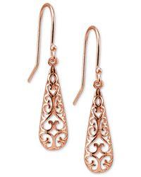 Giani Bernini   Metallic Filigree Drop Earrings   Lyst