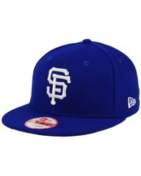 competitive price bbff3 7a451 Men s Blue San Francisco Giants C-dub 9fifty Snapback Cap
