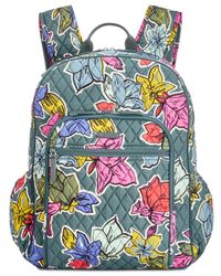 Vera Bradley - Blue Campus Tech Backpack - Lyst