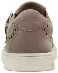 Frye - Gray Women's Gemma Kiltie Detailed Sneakers - Lyst