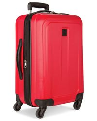 "Delsey - Red Free Style 2.0 29"" Hardside Expandable Spinner Suitcase - Lyst"
