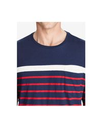 Polo Ralph Lauren - Blue Men's Standard-fit Cotton T-shirt for Men - Lyst