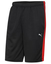 "PUMA | Black Men's Shorts Form Stripe 10"" Shorts for Men 