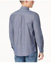 Dickies - Blue Men's Chambray Shirt for Men - Lyst
