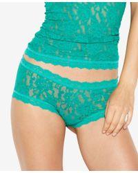 Hanky Panky - Green Signature Lace Boyshort 4812 - Lyst