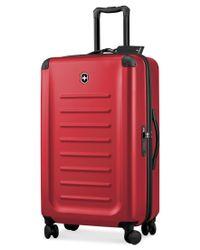 "Victorinox | Red Victorinox Spectra 2.0 32"" Hardside Spinner Suitcase for Men | Lyst"