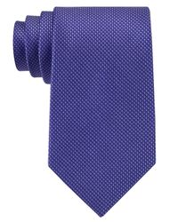 Michael Kors | Blue Michael Sorento Solid Tie for Men | Lyst