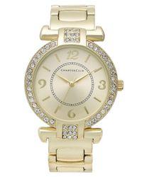 Charter Club - Black Women's Gold-tone Bracelet 25mm - Lyst