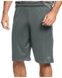 Champion - Gray Men's Vapor Powertrain Shorts for Men - Lyst