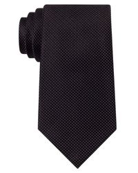 Sean John | Black Unsolid Solid Tie for Men | Lyst