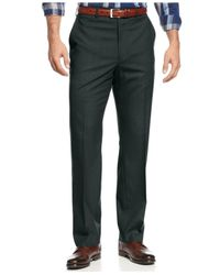 Michael Kors | Gray Michael Solid Classic-fit Stretch Dress Pants for Men | Lyst