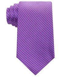 Michael Kors | Purple Men's Emergent Print Tie for Men | Lyst