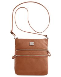 Style & Co. | Brown Veronica Crossbody, Only At Macy's | Lyst